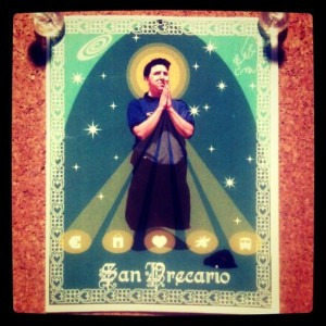 San Precario: Patron Saint of Precarious Workers