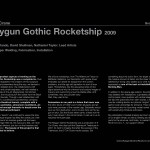 Raygun Gothic Rocketship Story