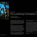 The Lumbering Contraption Story