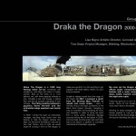 Draka The Dragon by Lisa Nigro. Photo By Tom Sepe