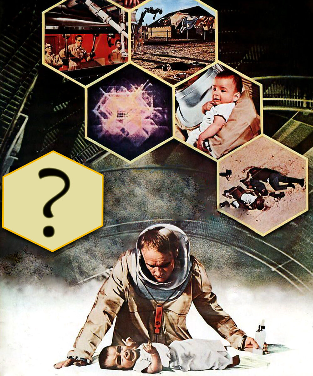 The Andromeda Strain Movie Poster (1971)